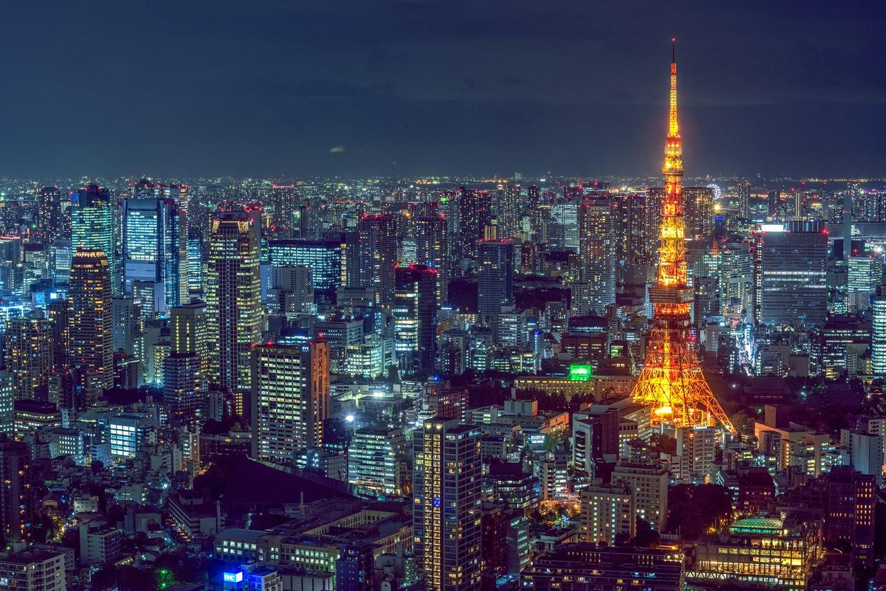 Tokyo at night - Samuel Barbosa da Cunha